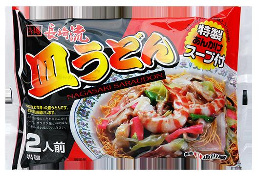 小川屋の長崎育ち皿うどん 特製あんかけスープ付き 2人前